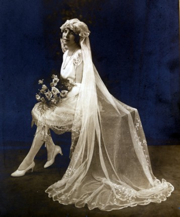 Coco Chanel's First White Wedding Dress